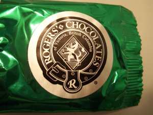 Rogers' Chocolates Logo by Catherine Kobley Berke