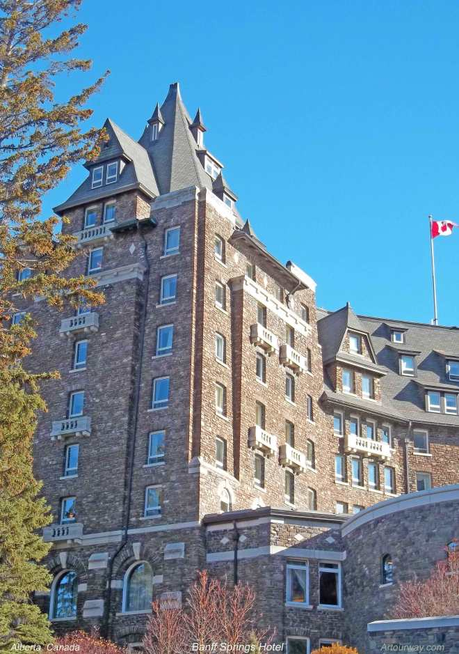 Banff Springs Hotel in Alberta