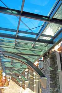 Sunlight Walkway Banff Springs Hotel, Alberta