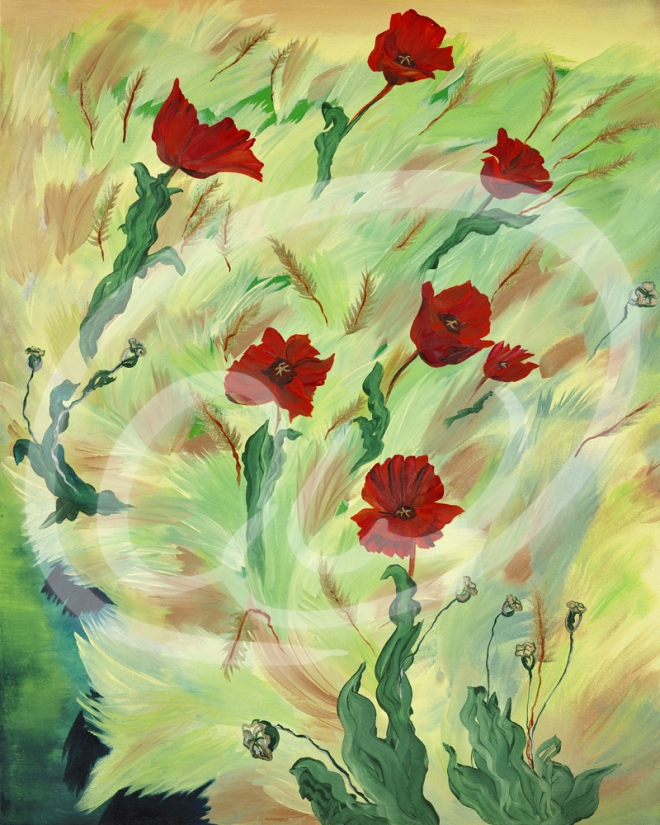 """""""Remembrance"""" inspired by my Grandfather William Alfred Franklin."""